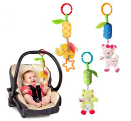 Baby Stroller Plush Bell Toy Infant Soft Plush Bed Bell Toys MYP 010 on Sale
