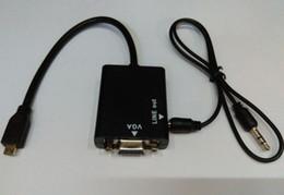 $enCountryForm.capitalKeyWord Canada - Micro HDMI to VGA with Audio Adapter for PC Laptop Tablet VGA Displays