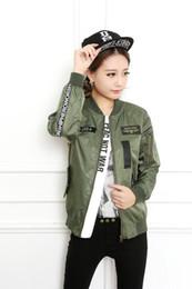 Discount Baseball Jacket Women Korean Style | 2017 Baseball Jacket ...
