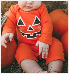 $enCountryForm.capitalKeyWord Canada - Lovely 2016 New Autumn Baby Rompers Halloween Cosplay Costumes Pumpkin Jumpsuits Infant Long Sleeve Onesies Newborn Romper Toddler One-Piece