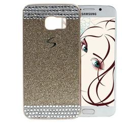 Rhinestone Case For S5 Canada - Luxury Bling Glitter Diamond Rhinestone Hard Plastic PC Back Cover For Samsung Galaxy S5 S6 Edge A3 A5 A7 Note 3 4 5 Note5 Grand Prime G530