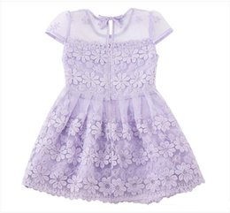 $enCountryForm.capitalKeyWord UK - The latest Style Cheap Cotton Beautiful Flower Girls' Dresses Beautiful Girls Pageant Dresses For Wedding Cascading for Kids Formal Wear