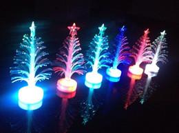 $enCountryForm.capitalKeyWord NZ - Fiber optic lighting optical fiber tree Colorful Christmas tree led flash toys wholesale luminous three-dimensional fiber trees