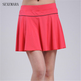 $enCountryForm.capitalKeyWord Canada - Wholesale- SEXEMARA tennis skirts skort badminton beach volleyball skorts anti exposure women girl skirt ladies sport skirts
