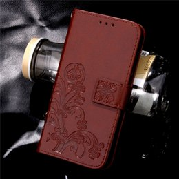 Discount flower leather flip phone case Luxury High Quality Flower Printing Wallet PU Leather Case forSamsung S8 S8plus S7 Flip Phone Back Cover for iPhone 8 7 LG
