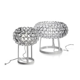 clear balls NZ - Foscarini Caboche Ball Table Lamps LED Chandelier Light by Patricia Urquiola + Eliana Gerotto, Clear Trasparent Acrylic Ball Night Light