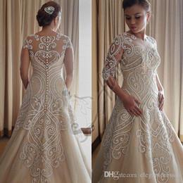 Wanda borges lace wedding dress