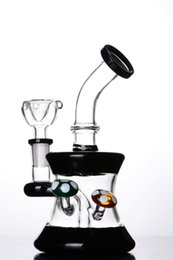 Cheap Water Bongs For Sale NZ - Cheap Small Bong with Cute Mushroom 7 Inches and 14mm Joint Bent Neck Glass Water Pipe for Sale