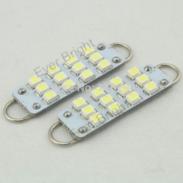 led illumination lamp 2020 - 30pcs 44mm 12 12smd 1210 LED lights LED car bulb lamp illumination indoor door cheap led illumination lamp