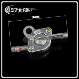 Dirt Bike Gas Canada - 6mm Gas Fuel Tank Switch Petcock Valve Tap For ATV Scooter Moped Dirt Bike Pit Bike Motorcycle Motocross Quad CR YZ RM