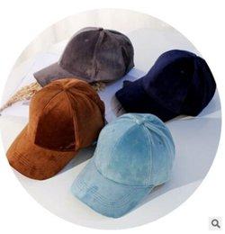 2017 inverno pele leath snapback chapéus inverno boné de beisebol veludo chato chapéus hip-hop cap frete grátis marrom venda por atacado