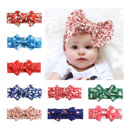 10 cores infantil arco headbands menina natal headwear crianças bebê fotografia adereços crianças acessórios para o cabelo do bebê faixas de cabelo kjw001 venda por atacado