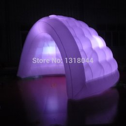 $enCountryForm.capitalKeyWord Australia - Hot sale portable outdoor inflatable dome tent with led for wedding events commercial use(Free blower,Free logo)