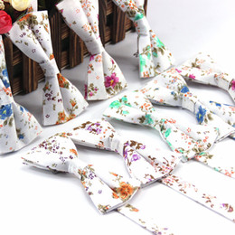 $enCountryForm.capitalKeyWord Canada - Men's Leisure Spot polyester silk printing uniform tie wedding groom Korean ribbon wholesale