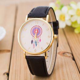 6bfc62bfe El nuevo reloj de cuarzo digital de viento de viento nacional. Reloj de  moda para mujer de imitación de cuero de mesa. Para informar.