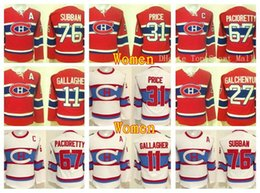 201422a5e Women Montreal Canadiens Jerseys Winter Classic Hockey 11 Brendan Gallagher  27 Alex Galchenyuk 31 Carey Price 67 Max Pacioretty 76 PK Subban