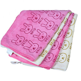 $enCountryForm.capitalKeyWord UK - Wholesale high quality lint rabbit towel baby small towel handkerchief factory direct children 30*31CM