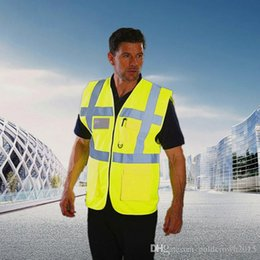 $enCountryForm.capitalKeyWord Canada - High Quality Reflective Safety Clothing Visibility Working Safety Construction Vest Warning Reflective traffic working Vest RS-02 Thickened