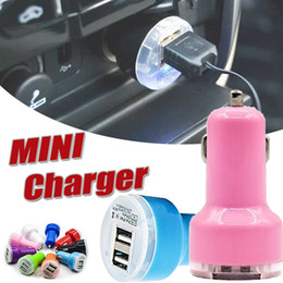 $enCountryForm.capitalKeyWord NZ - Universal Micro Auto Dual USB Car Charger Mini Trumpet Buglet Adapter Passthrough for iPhone X 8 7 Plus 6 6S 5S Samsung S8 S7 edge Note 8