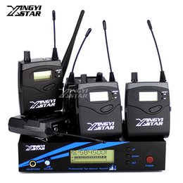 $enCountryForm.capitalKeyWord Canada - Five Bodypack Receiver UHF Wireless In Ear Monitor System Professional Stage Monitoring G2 Cordless One Cordless Transmitter in Headphone