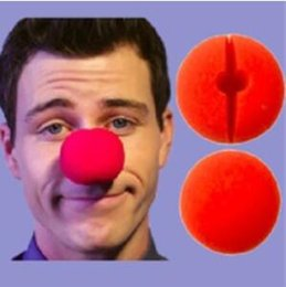 back sponge Canada - Hot Sale Party Sponge Ball Red Clown Magic Nose For Halloween Party Masquerade Christamas Decors Accessory Decors