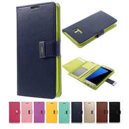 Samsung Grand Wallet Case Canada - Rich Diary Wallet PU Leather Case Inner TPU With Card Slots Side Pocket for Samsung A3 A5 A7 J1 J5 J7 2016 Grand Prime G530