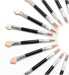 EyE shadow applicators spongE online shopping - New Makeup Brushes Disposable Sponge Cosmetics Eye Shadow Eyeliner Lip Brush Set Applicator For Women Beauty
