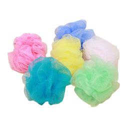 $enCountryForm.capitalKeyWord UK - Small 25pcs lot Bath Ball Bath Tubs Scrubber Body Cleaning Mesh Shower Wash Sponge
