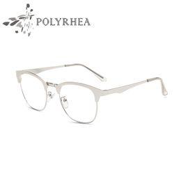 new eyeglasses frames fashion glasses vintage eyeglasses frame women men full frame clear lens frames for women optical glasses with box discount optical - Discount Picture Frames