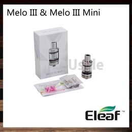 China Ismoka Eleaf Melo III Atomizer Melo III Mini Tank 4ml Melo 3 2ml Melo 3 Mini Top Filling Hidden Bottom Adjustable Airflow 100% Original suppliers