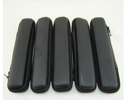2016 Hot eGo Mini zíper case bolsa de transporte de couro para cigarro eletrônico ugo evod visão spinner 2 starter kit Zipper case Kits DHL venda por atacado