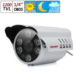 1200TVL водонепроницаемый пылезащитный ИК 50 м цвет ночного видения крытый / открытый безопасности CCTV камеры 4 мм объектив CCT_10B