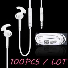 Ear Stereo Earphone Samsung Galaxy S5 Canada - 100 pcs   lot For S7 s7 edge Earphone Headset In Ear Stereo Earphones Audifonos With Mic for Samsung Galaxy S7 S6 S5 S4 S3 S2