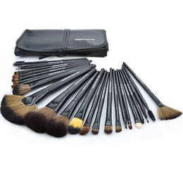 portable tool kits Canada - 2017 Professional Makeup Brushes 24pcs Set 3color Brushes Set Tools Portable Full Cosmetic Brush Tools Kits Makeup Accessories