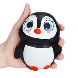 $enCountryForm.capitalKeyWord NZ - Arrival Jumbo Squishy Penguin Kawaii Cute Animal Slow Rising Sweet Scented Vent Charms Kid Toy Doll Gift Fun