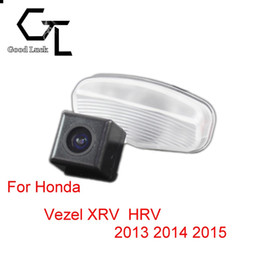 honda rear view backup camera Canada - For Honda Vezel XRV X-RV HRV HR-V 2013 2014 2015 Wireless Car Auto Reverse Backup CCD HD Rear View Camera Parking Assistance