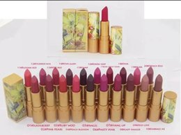 lipsticks english name Canada - new Limited Edition Brand Makeup Lipstick Guo Pei Lustre Lipstick 20 Different Colors With English Name DHL