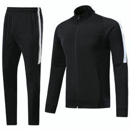 df1a81542 2017 2018 Soccer jacket set CAVANI DI MARIA training suit soccer uniform 17  18 Men VERRATT Black tracksuit S-XL