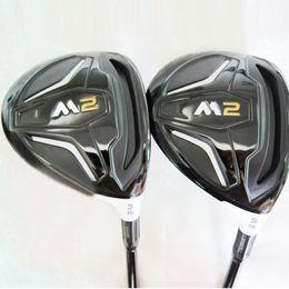 Neue Herren Golfschläger M2 Golf Fairway Holz 3/15 5/19 Graphit Golf Schäfte Golf Headcovers Holzschläger Kostenloser Versand