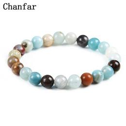 China Chanfar 19 Styles Elastic Natural Stone Bracelet &Bangle With White Howlite Lava Buddha Beads Bracelets Tiger Eye Jewelry cheap snake eye stone suppliers