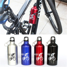 $enCountryForm.capitalKeyWord Australia - Wholesale- 500ml Aluminum Alloy Drinking Drinkware Kettle Sports Camping Hiking Cycling Climbing Bicycle My Water Bottle With Carabiner