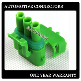 21 Pins Canada - Green 2 pin Female Electrical Connector for GM MAP Sensors DJ3032-2.5-21 12015792