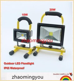 $enCountryForm.capitalKeyWord Canada - YON Free shipping High power Rechargeable Portable LED Floodlight 10W 20W IP65 Waterproof Warm white   white Outside Camping Lamp