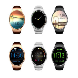 $enCountryForm.capitalKeyWord Canada - Smart Watch KW18 Smart Wristwatch Compatible for IOS and Android System Fashion Shape Heart Rate Sync Wristwatchfree wearable smart watches