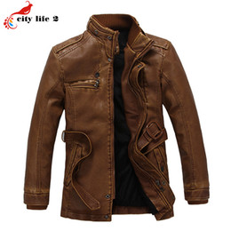 Discount Warm Leather Coats For Men | 2017 Warm Leather Coats For ...