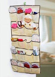 Wholesale-1 Pcs 20 Pockets Over Door Cloth Closet Space Storage Shoe Hanger Organizer Hanging Hot! over door pocket organizer deals & Discount Over Door Pocket Organizer | 2017 Pocket Over Door Shoe ... Pezcame.Com