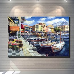 $enCountryForm.capitalKeyWord Canada - Vintage Venice Town Pictures Painting Canvas Poster Painting Prints Hotel Bar Garage Living Room Wall Home Art Decor Poster