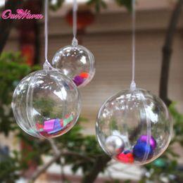 $enCountryForm.capitalKeyWord Canada - 50pcs 40mm Acrylic Transparent Ball Clear Plastic Ball for Wedding Favors Candy Box Party Supplies Christmas Tree Decoration <$16 no trackin