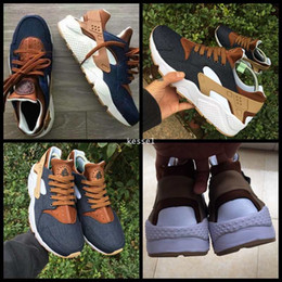 535ee17a19b4 Custom Glitter Shoes Canada - Cheap Huarache ID Custom Breathe Running Shoes  For Men Women
