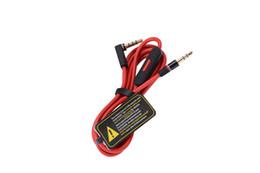 $enCountryForm.capitalKeyWord NZ - Wholesale 3.5MM Control Talk Cable Aux Cable For Beat Headphones Studio Solo Pro Mixr Replacement Mic Remote Cable 50pcs Lot